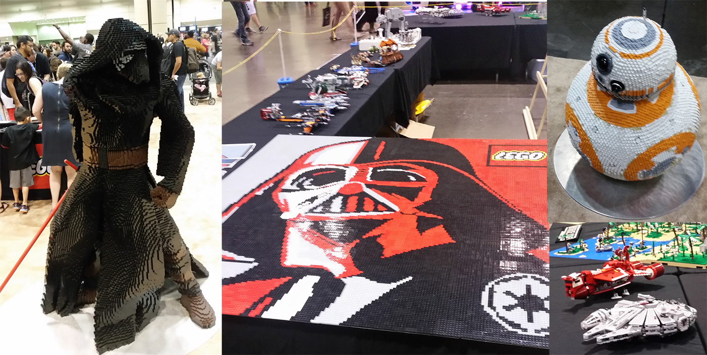 Star Wars Celebration Orlando Legos